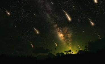 Doble Lluvia de Meteoros para la noche del Jueves