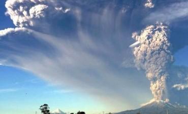 Las cenizas del volcán Calbuco llegan a Bariloche