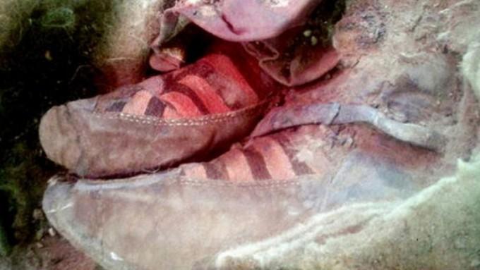 Pastores encontraron los restos humanos en una montaña
