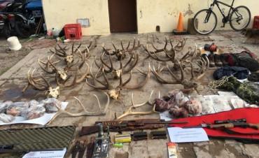 Detuvieron a dos cazadores