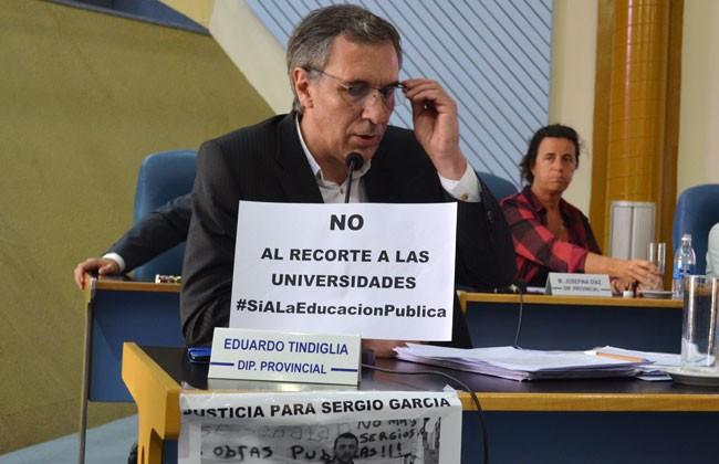 El PJ bloqueó un repudio a Tierno en Diputados