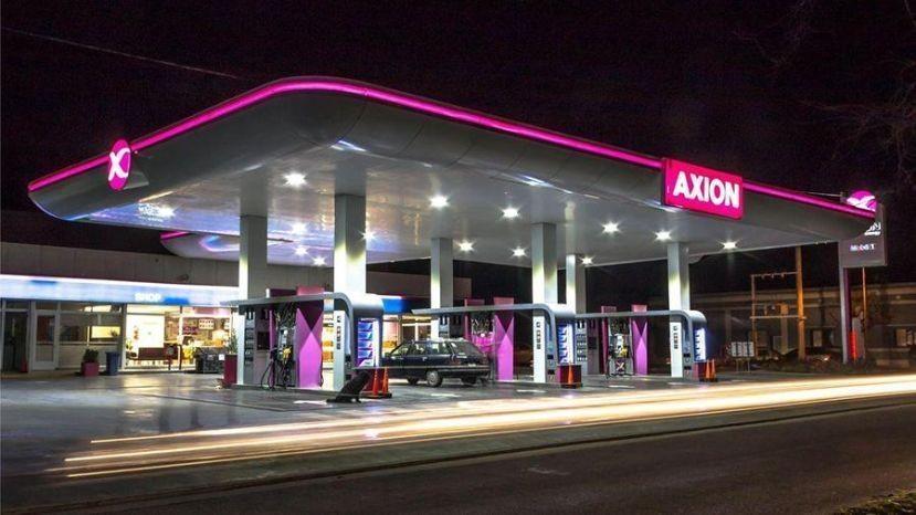 A partir de la medianoche, Axion aumenta el combustible