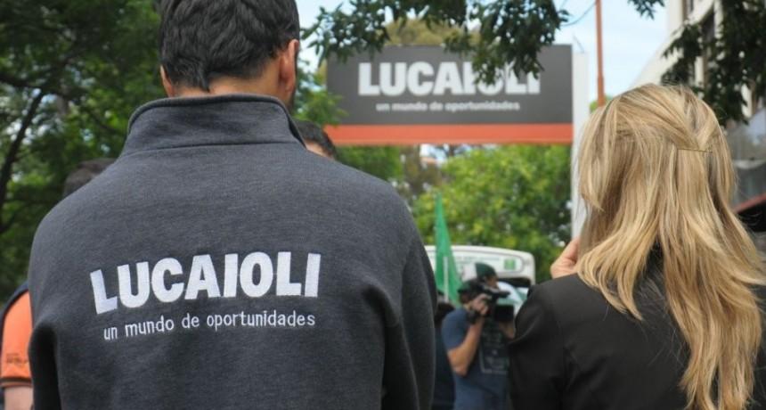 Lucaioli, a punto de quebrar, cerró su sucursal en Acha