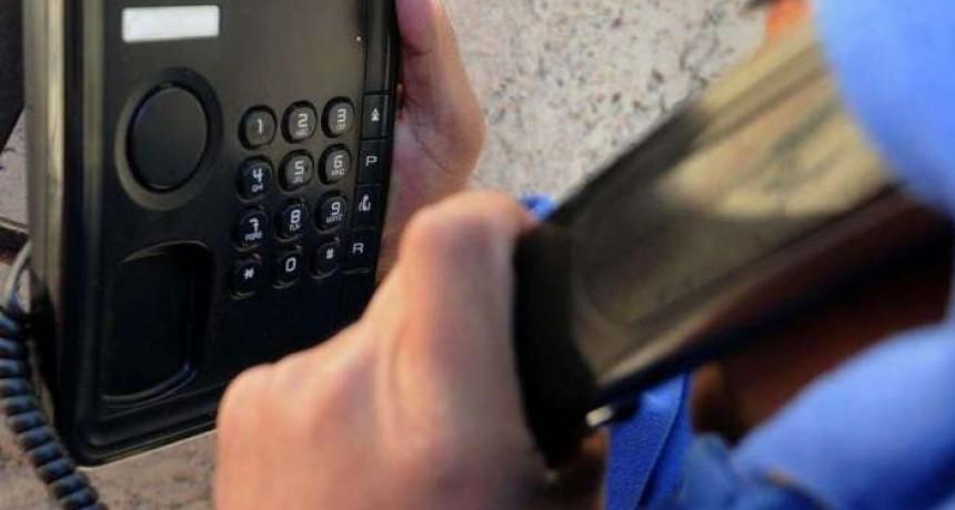 Ministerio de Seguridad alertó por estafas telefónicas