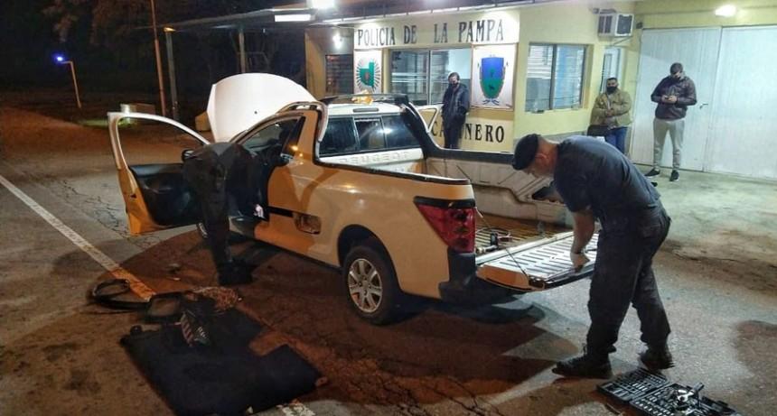 Rolón: un detenido con más de 10 kilos de cocaína y 2.000 pastillas de éxtasis