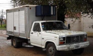RECUPERAN EN DARREGUEIRA CAMION ROBADO EN GUATRACHE