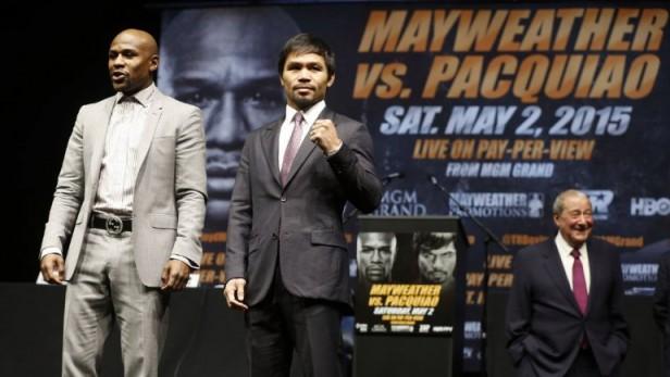 Todo lo que hay que saber sobre la pelea del año entre Mayweather y Pacquiao