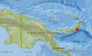 Alerta de tsunami por dos sismos en el este de Papúa Nueva Guinea