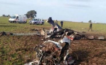 Dos personas murieron al caer una avioneta cerca de Punta Alta