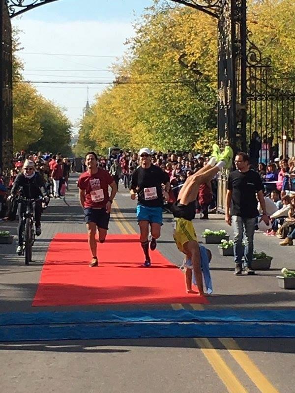 Emotiva y exitosa Maratón Internacional de Mendoza