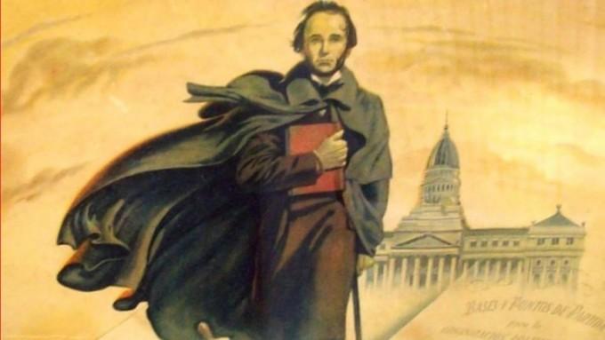 Fue uno de los intelectuales que participaron en la elaboración de la Constitución de 1853.