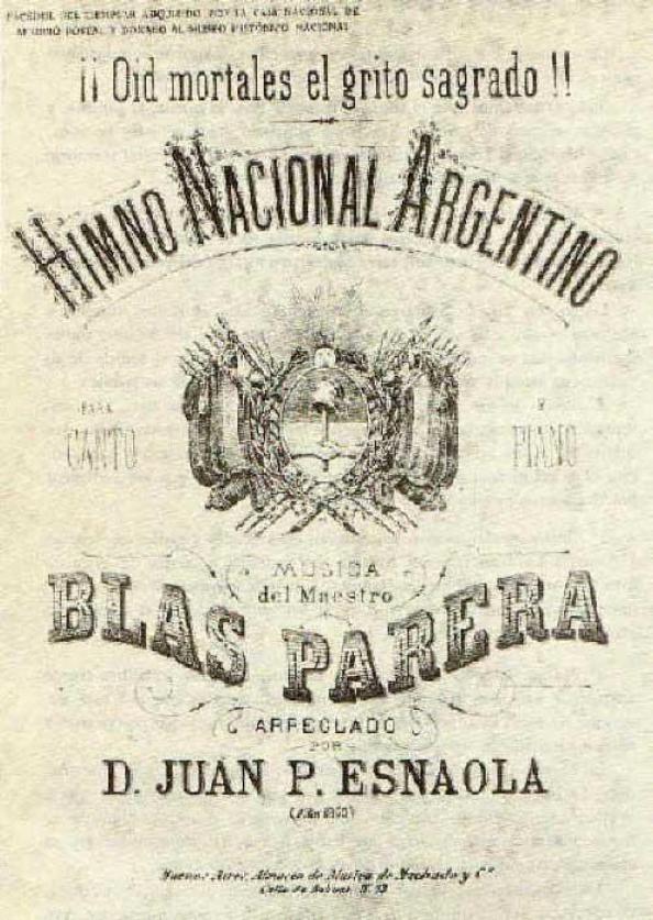 11 de Mayo, Día del Himno Nacional Argentino