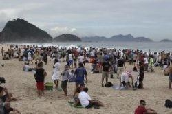 Brasil recibió 6.305.838 turistas extranjeros en 2015,