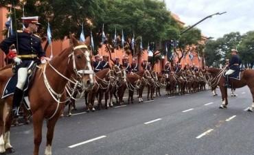 Todo listo para el desfile militar por los 207 años de la Patria