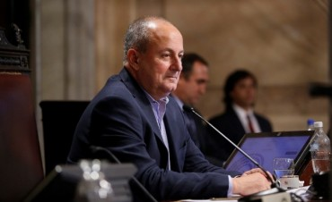 El senador Juan Carlos Marino (UCR La Pampa)