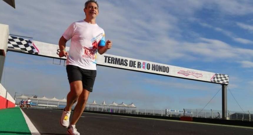 Pampeano corrió una ultramaratón de 24 horas y quedó primero en su categoría
