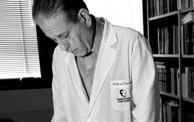 René Favaloro  primer bypass aortocoronario de la historia