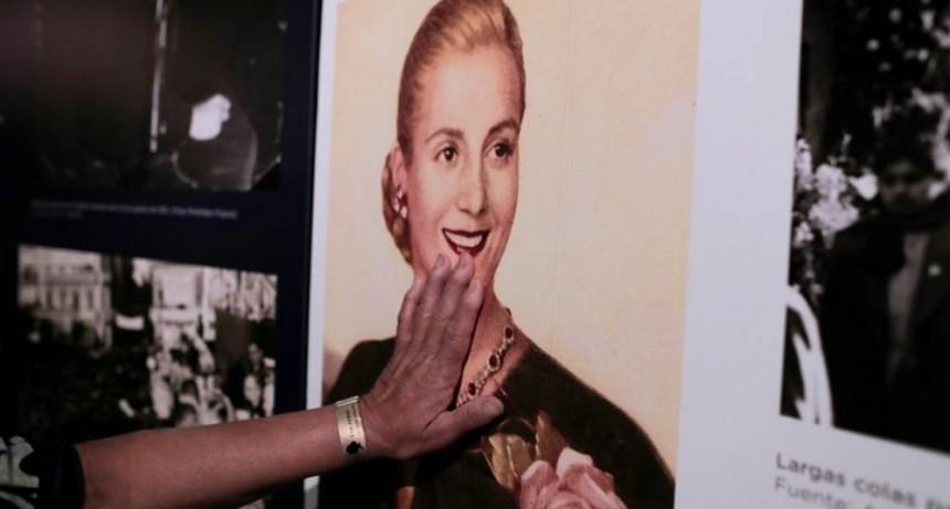 A 100 años del nacimiento de Eva Perón