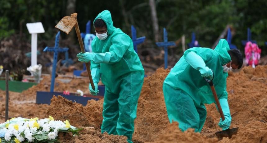 Brasil ya es el cuarto entre los países con más cantidad de enfermos de coronavirus