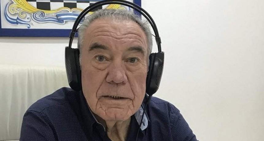 El pampeano que transmitió con «una mesita y un teléfono»