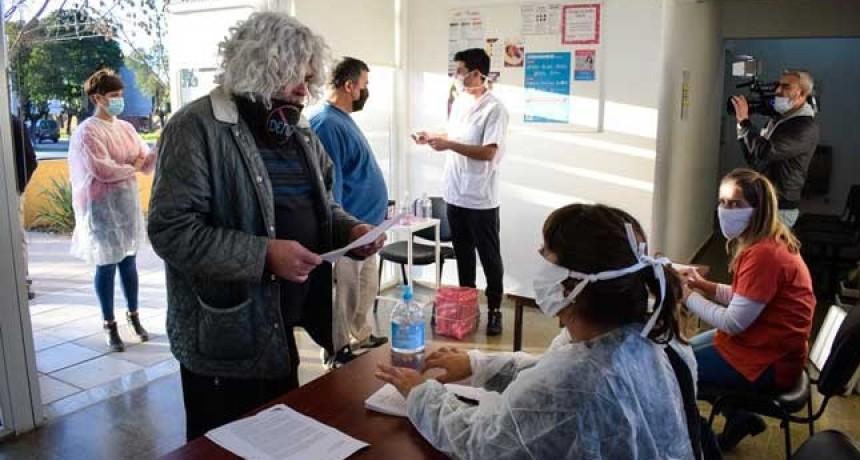 Campos: hicieron 7 testeos de coronavirus