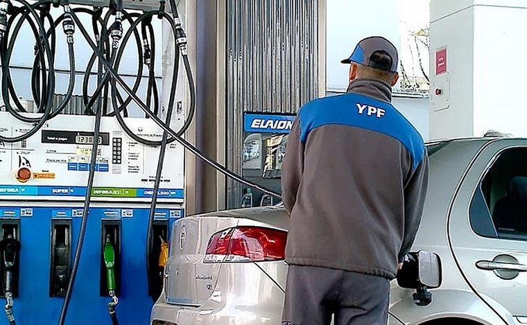 YPF aumenta los combustibles un 6% desde este sábado