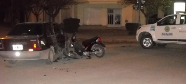 NUEVO ACCIDENTE CON MOTO EN GUATRACHE