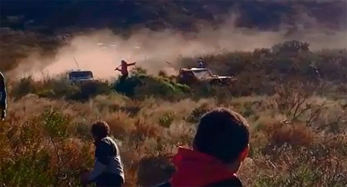 Gravísimo accidente en el safari de La Adela
