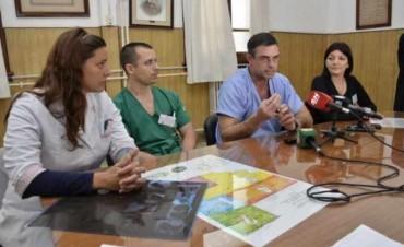 En el Hospital Lucio Molas