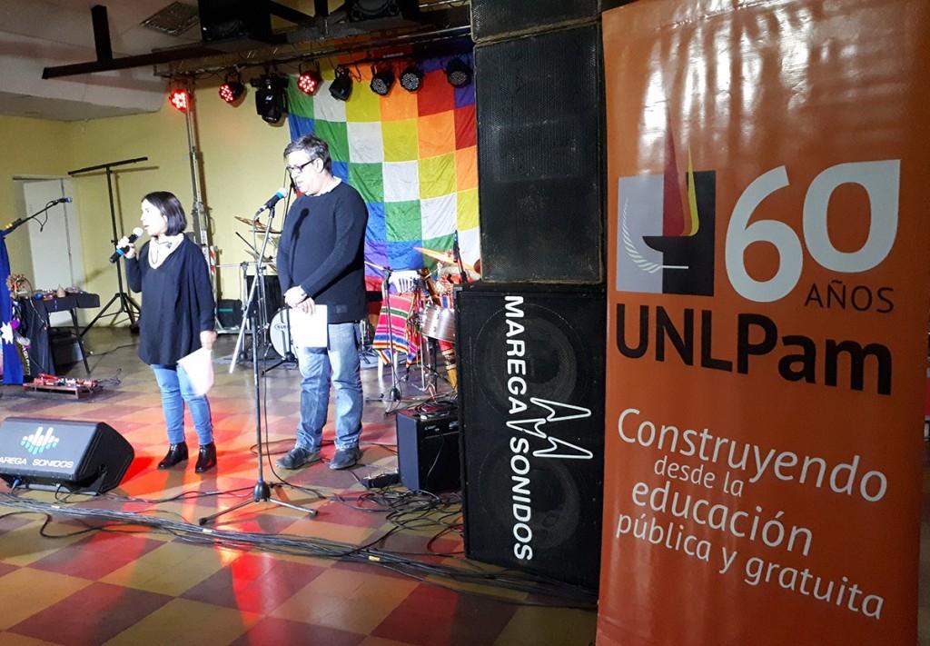 La UNLPam participó del encuentro intercultural en Pico