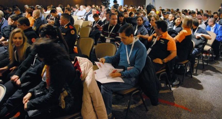 Congreso de Bomberos en Santa Rosa