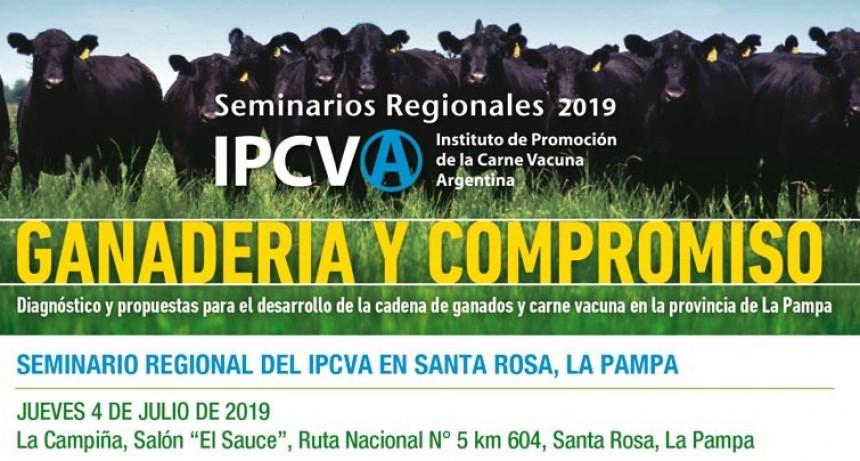 Seminario ganadero del IPCVA en La Pampa