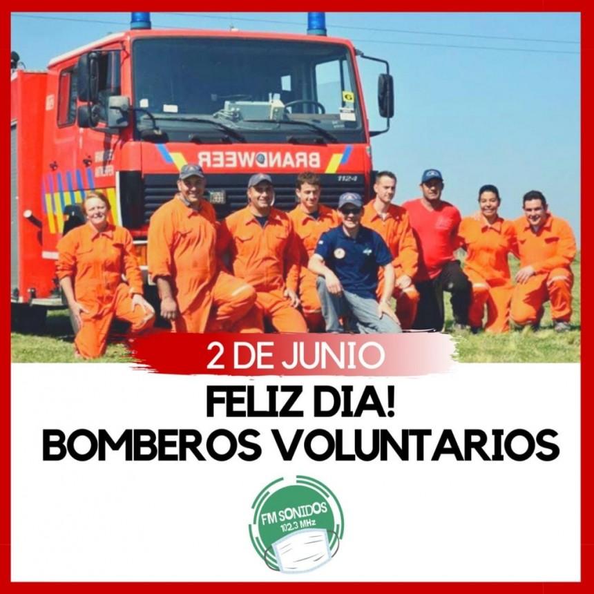 🗓 2 de junio 👨🚒 Día Nacional del Bombero Voluntario 👨🚒