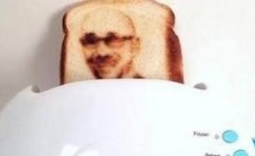 Llego la tostada selfie!!!!
