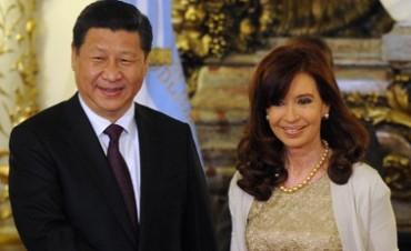 Cristina firmo acuerdos con su par chino