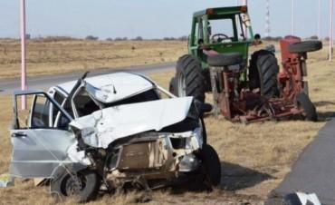 San Luis: dos víctimas pampeanas en choque