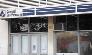 Facturas de Camuzzi a pagar en dos cuotas
