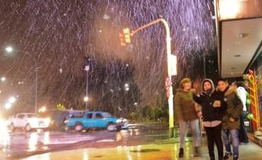 Postales de la nevada en Bahía