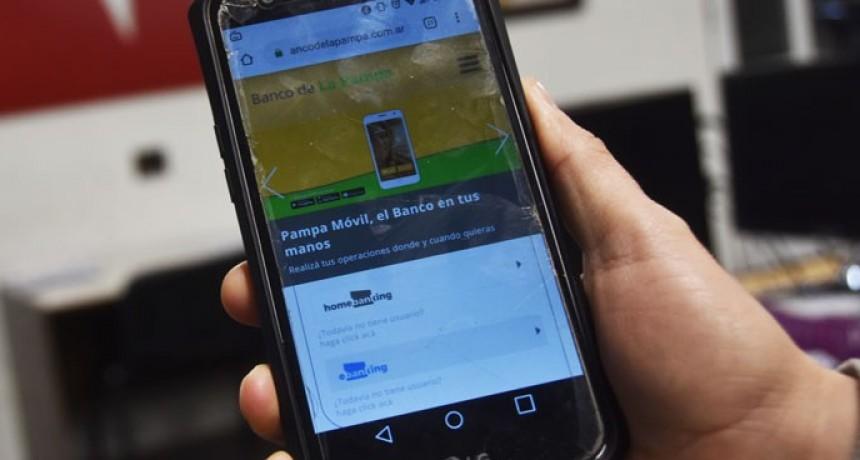 """El Banco de La Pampa alerta por """"phishing"""""""