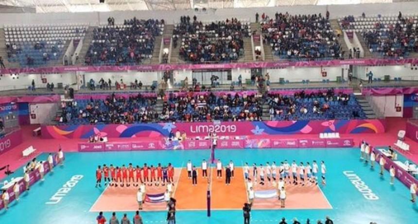 Gran debut de Argentina en el vóley masculino de Lima 2019: 3-0 sobre Cuba