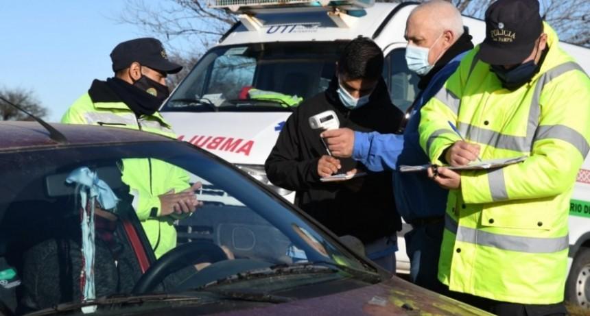 Extreman controles epidemiológicos a pampeanos que regresen de San Luis