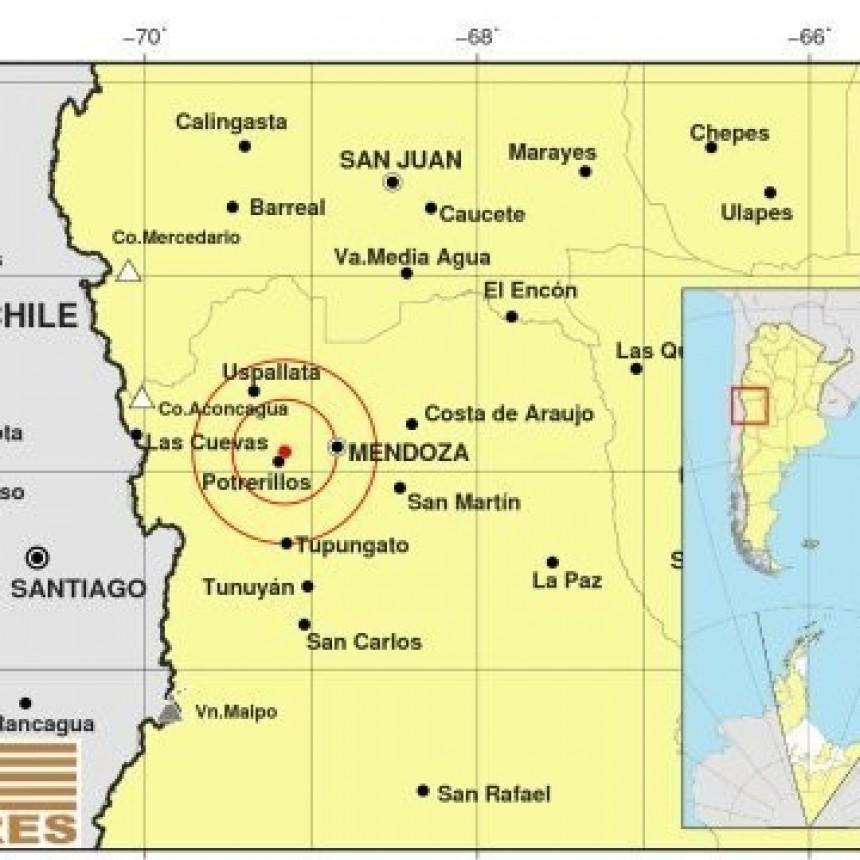 Un sismo de magnitud 4.0 se sintió en Mendoza