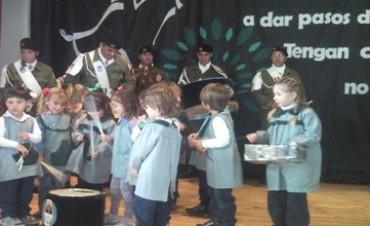 La banda del Ejército de Pigüe actuó en Darregueira