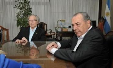 Jorge recibió a Pérez Esquivel
