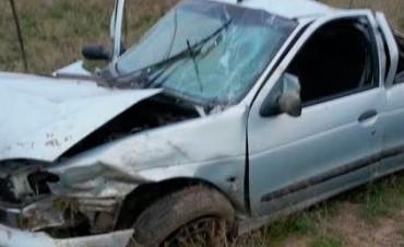Dos jóvenes de Darregueira se accidentan en la 35