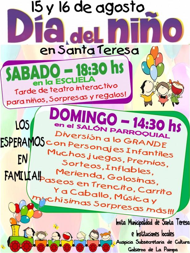 Día del Niño en Santa Teresa