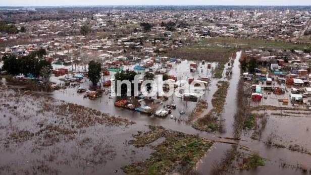 Mercedes sufrió la peor inundación en 25 años