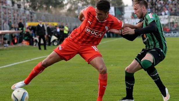 La racha victoriosa de Mauricio Pellegrino como DT de Independiente llegó a su fin en San Juan.