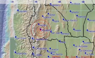 Un sismo con epicentro en San Juan