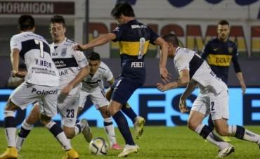 En el final, Boca logró un triunfo ante Gimnasia